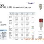 Đèn tháp cảnh báo Q-Light 1->5 tầng, bóng LED, Trụ tròn Φ45, ST45L