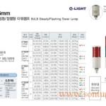 Đèn tháp cảnh báo Q-Light 1->5 tầng, bóng Sợi đốt, Trụ tròn Φ56, ST56B