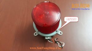 Den bao hieu Qlight bong LED nhap nhay SH1L-SH1LF