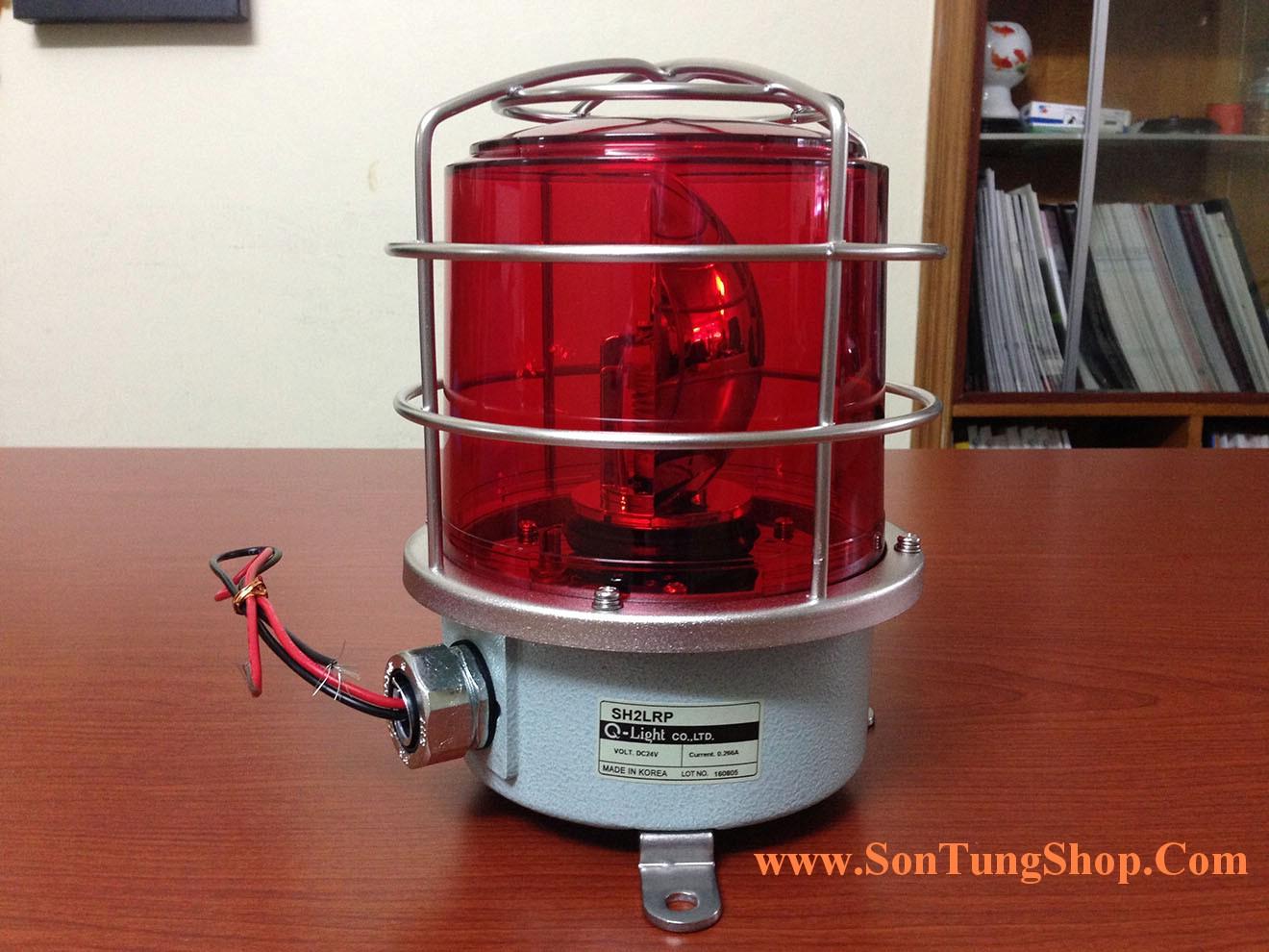 Đèn báo hiệu QLight Nhấp nháy Φ150, bóng LED, Hàng Hải IP56, KIMM, ABS, CE, SH2-Mở Hộp
