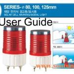 Hướng dẫn sử dụng đèn báo năng lượng mặt trời S180SOL-S100SOL-S125SOL