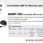 Am ly coi hu xe uu tien SAMP-100 Qlight