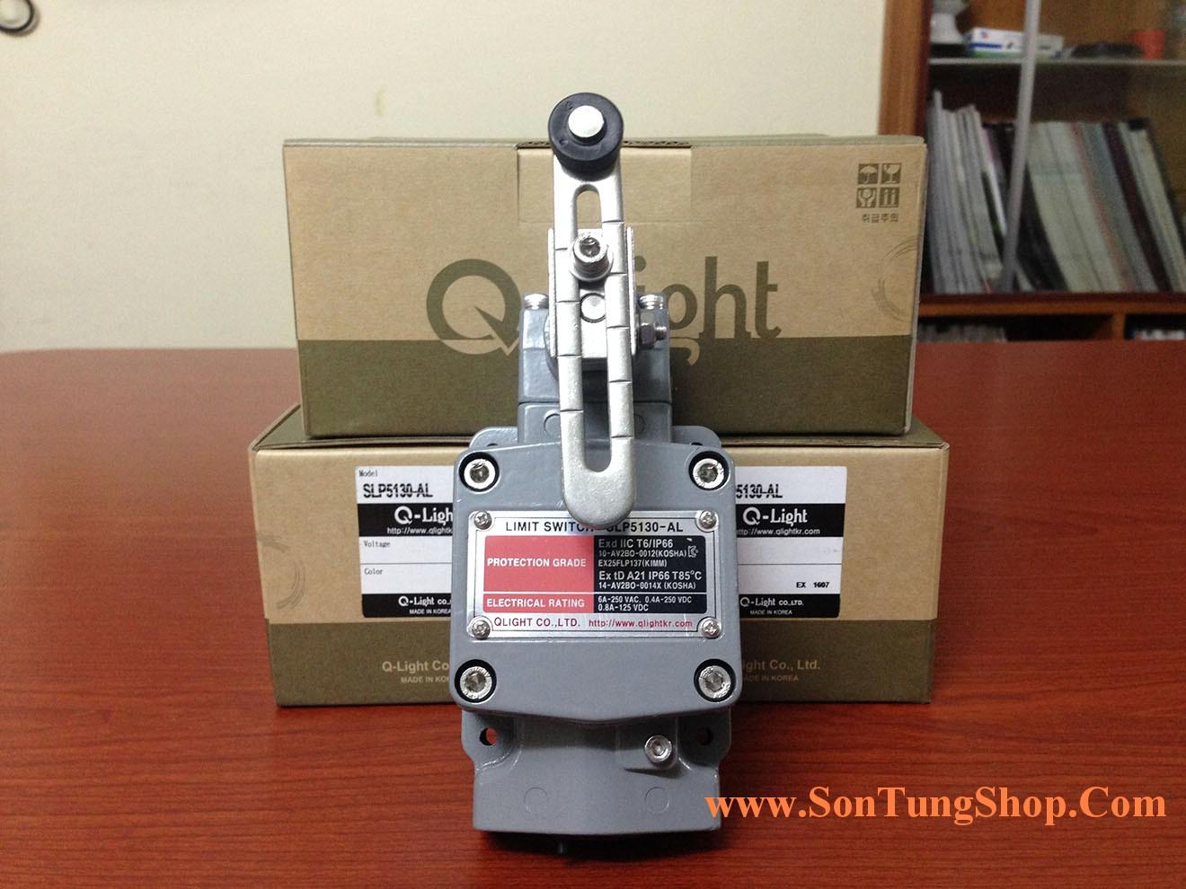 Công tắc hành trình Limit Switch Qlight Phòng nổ Qlight Korea SLP5130-Mở Hộp