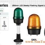 Den bao hieu qlight bong LED Q60L. Q60LW, Q60LP IP65