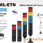 Den thap ket noi mang LAN Ethernet Qlight IP54 QT50L-ETN, QT50ML-ETN