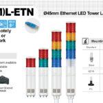 Den thap ket noi mang LAN Ethernet Qlight ST45L-ETN, ST45ML-ETN
