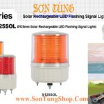 S125SOL IP65 Đèn Báo Không, Báo Hiệu Đường Thủy QLight Φ125, Năng Lượng Mặt Trời, 50h