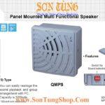 QMPS Loa Coi Bao Da Chuc Nang Ghi Am MP3 Qlight 98dB IP54