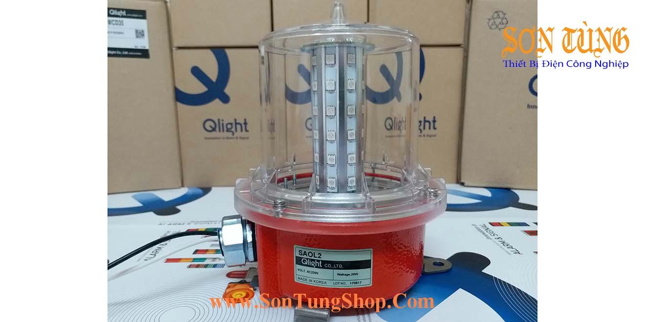 SAOL2 Đèn Báo Không, Báo Độ Cao Qlight Φ139, Sáng Nhấp Nháy, Bóng LED, IP66: Thực tế
