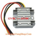 Bộ chuyển nguồn 1 chiều VDC 12VDC => 24VDC