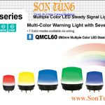 QMCL60 Den bao hieu 7 mau Qlight