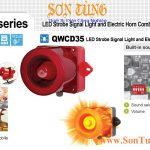 QWCD35-Sound den bao co loa 30 am Qlight