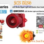 QWCD50-Sound den bao co loa 30 am Qlight