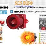 QWCD50SD-MP3 den bao co loa ghi am Mp3 Qlight
