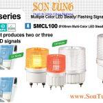 SMCL100 Den bao hieu 2-3 mau Qlight