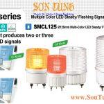 SMCL125 Den bao hieu 2-3 mau Qlight