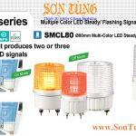 SMCL80 Den bao hieu 2-3 mau Qlight