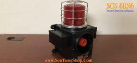 Đèn Báo Có Loa Qlight SCDWL-WS, Φ140, Nhấp Nháy, 5 Âm Báo Hiệu 118dB, Hàng Hải IP66: Thực Tế
