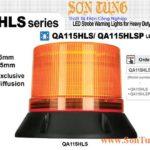 QA115HLS den bao cho xe LED chop nhay