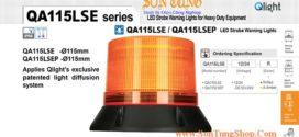 QA115LSE Đèn LED chớp nháy cho xe công trình, xe cứu thương Qlight: Thực tế