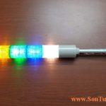 ST56L-5-220-RAGBC Den thap canh bao 5 tang Qlight