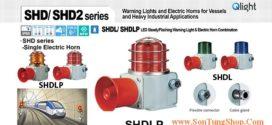 SHDL-WA-220-B-LC Đèn báo có loa Qlight Φ120 Bóng LED 5 âm báo 118dB IP66, KIM, ABS