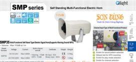 SMP35-110/220-LC Loa còi báo hiệu Qlight 31 âm báo 115dB IP65, CE, 110VAC/220VAC