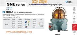 SNELR-220-A Đèn quay tín hiệu phòng nổ Qlight Φ152 Bóng LED  IP66, IECEx, ATEX, NEPSI, KIMM