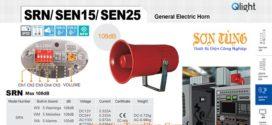 SRN-WA-220-LC Loa còi cảnh báo Qlight 5 âm Cảnh báo 105dB IP55, CE, 220VAC