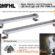 QMFHL-600-220 Đèn LED chống dầu máy công cụ 600 Bóng LED 600 mm IP67/IP69K