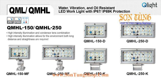 QMHL-150-24-D Đèn LED chiếu sáng chống nước, chống dầu Qlight IP67